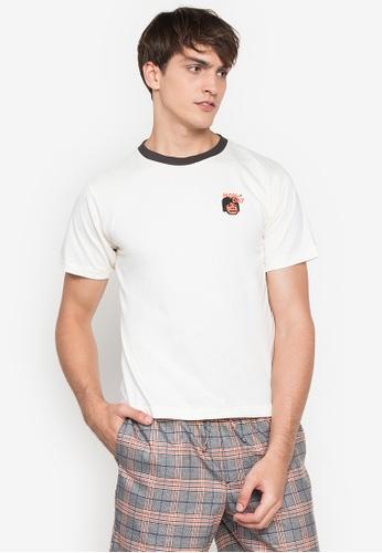 Artwork white Mondaze T-Shirt CC3BAAA89B5822GS_1