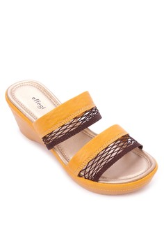 Double Strap Wedge Slides