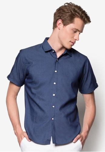 修身短袖襯衫, 韓系時尚, 梳尖沙咀 esprit outlet妝