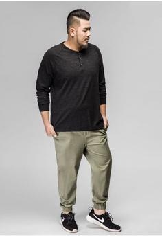 d8e93d89208f7 JSMIX green Plus Size Singapore-Men s Plus Size Jogger Pants  8CA16AA8DB463AGS 1