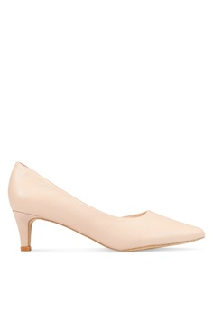 5b79eab3c16 Nose beige Pointy Toe Mid Heel Pumps 60B6CSH1094EF4GS 1