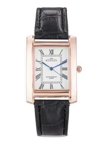 羅馬數字仿皮方esprit招聘錶, 錶類, 飾品配件