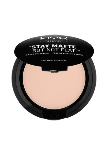 NYX Professional Makeup beige NYX Professional Makeup Stay Matte Powder Foundation- PORCELAIN 366DFBEE99C99DGS_1