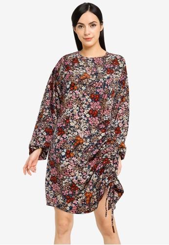 Vero Moda pink Selma Long Sleeves Short Dress DBF34AA68A20C4GS_1