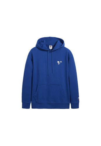 Levi's blue Levi's x Peanuts Relaxed Graphic Hoodie 38821-0019 BD3ABAAD74E392GS_1