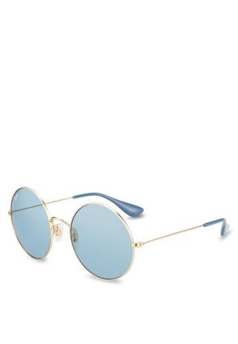 96f4a3f83b Ray-Ban gold Ja-Jo RB3592 Sunglasses RA896GL92GRNMY 1