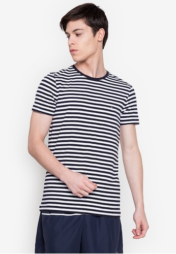 Tommy Hilfiger white Stretch Slim Fit Tee 73A64AA4C295D3GS_1