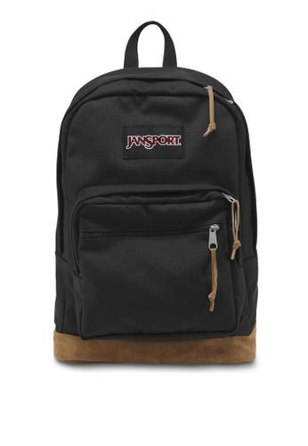 Jansport black Jansport Right Pack Backpack Black - 31L 2FF27AC7B51E74GS_1