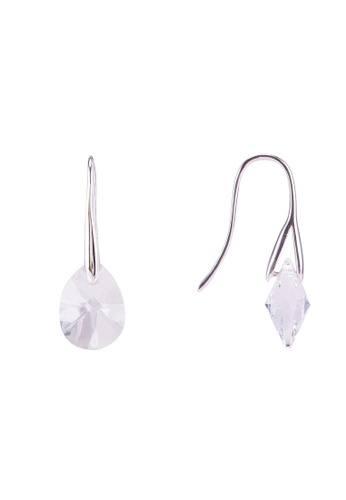 Mestige 銀色 Pascal 耳環With Swarovski Crystals 265C1AC6A97B21GS_1