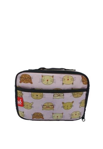 Akarana Baby pink Akarana Baby Lunch Bag (Brainy Cat) C3591KC02FC697GS_1