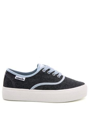 Twenty Eight Shoes grey Platform Sneakers 17022 TW446SH33ZGSHK_1