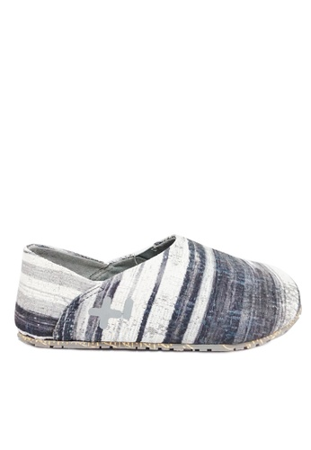 OTZ Shoes grey Espadrille Batik Men's Shoes 449D2SH4BD2642GS_1
