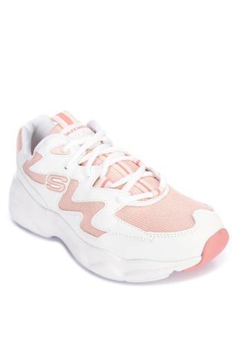 Skechers white D'Lites Airy - New Galaxy Sneakers DDA91SH5E78262GS_1