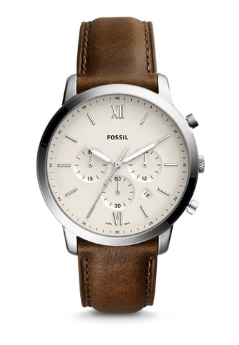 Fossil brown Fossil Neutra Chronograph Brown Watch FS5380 FO164AC0S3ORMY_1
