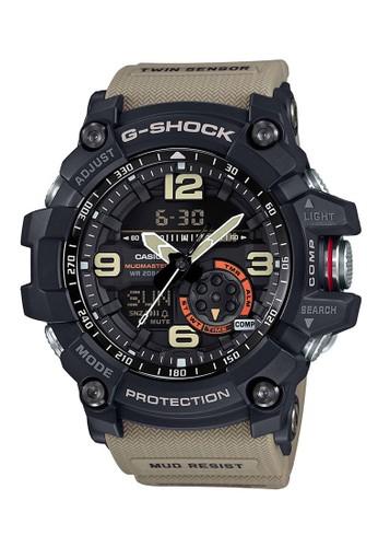 G-shock black and brown G-shock Men G-SHOCK GG-1000-1A5DR MudMaster E05A8AC5528FEFGS_1