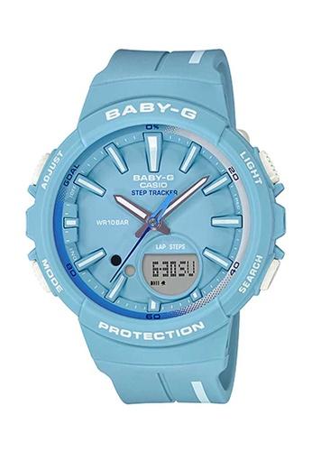 CASIO blue Casio Baby-G Baby Blue Resin Watch 6797DAC085E048GS_1