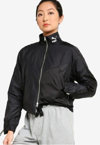 Puma black T7 Women's Full Zip Track Jacket 36120AA1360944GS_1