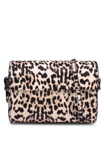 28491b06e74d Shop MANGO Animal Print Leather Bag Online on ZALORA Philippines