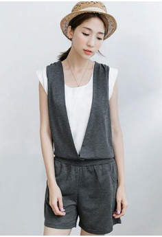 Casual Play Jumper Jumpsuit