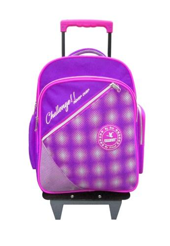 Swan purple Swan Kid Children School Bag Huge Roll (Purple) Spinal Protection Back Support  Swan Series Swan Bag B784BKC9655BBBGS_1