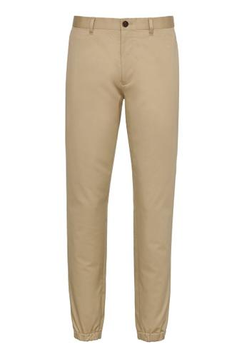 Kent and Curwen brown Kent & Curwen cotton long pants 9BDCEAA2371E14GS_1