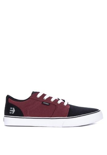 Etnies black Barge Ls Sneakers 86680SH2FC9B03GS_1