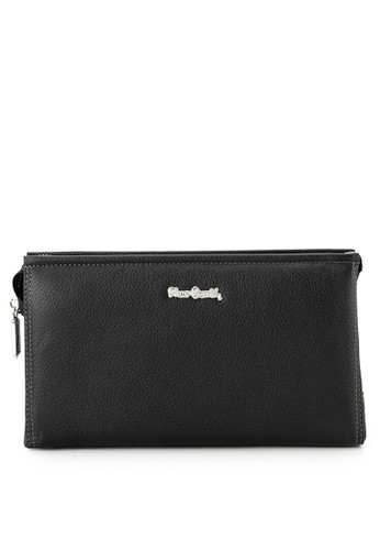 Pierre Cardin black Casual Sling Bag B294FACEE491D3GS_1