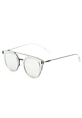 Amora Scarlett Layla Silver Reflective Eyewear AM058AC0RZFYMY_1