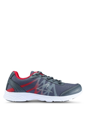 Power grey Athletic Running Shoes 41A89SH44E5129GS_1