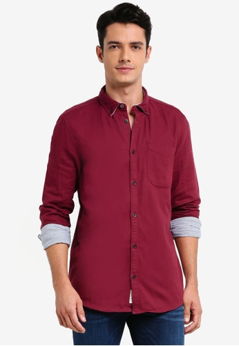 River Island purple Double Face Shirt 5AF09AA27E0076GS_1