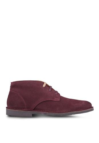 Selected Homme brown Royce Desert Suede Boots 382B0SH27D1EE4GS_1
