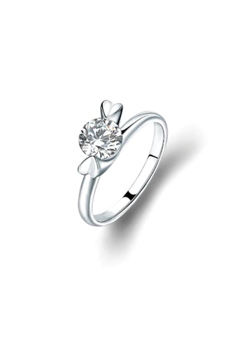 ADORA Silver Swarovski Ring 85905AC78D3619GS_1
