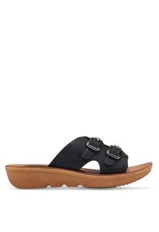da6c71bb70b6ce Double Buckle Sandals 6D80DSH6882F05GS 1