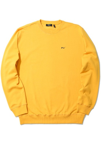 Fivecm yellow Existence sweatshirt D9D45AABE3AC1FGS_1