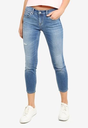 Calvin Klein blue Infinite Soft Cropped Body Jeans 3F6C6AADD09138GS_1