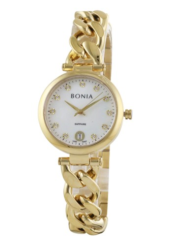 BONIA gold Bonia B10437-2257 - Jam Tangan Wanita - Gold 2DC0FAC3892083GS_1