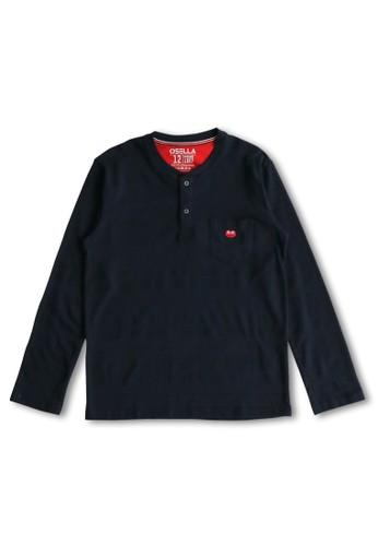 Osella Kids navy Osella Baju Anak Laki Laki Tshirt Navy 72BE0KAA8E813AGS_1