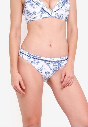 Seafolly white Love Bird Hipster Bikini Pant CDB42USD777B99GS_1