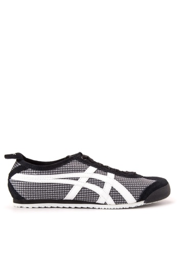 Onitsuka Tiger black and white Mexico 66 Sneakers ON625SH27HTGPH_1