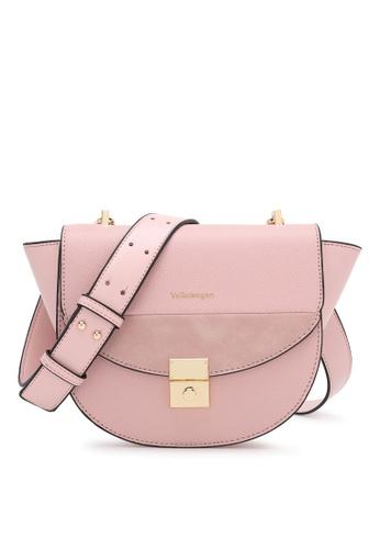 Volkswagen pink Sling Bag B22ABAC41211ABGS_1