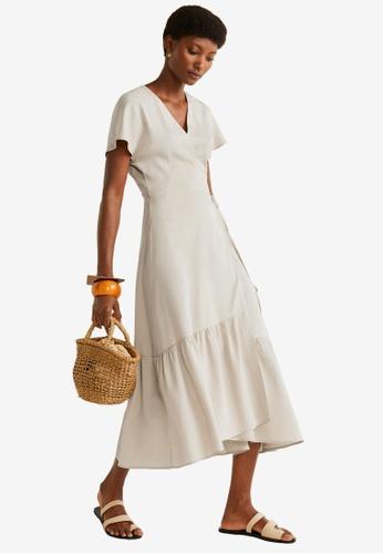 amazing price store free delivery Shop Mango Ruffled Dress Online on ZALORA Philippines