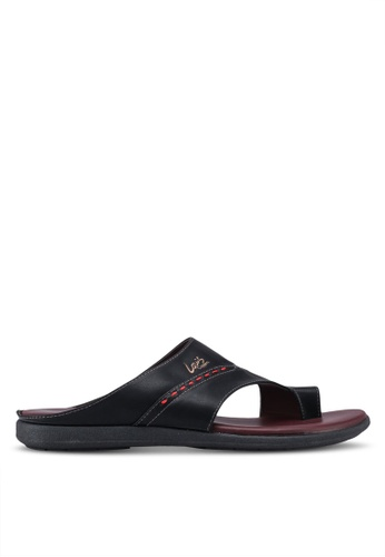 Louis Cuppers black Casual Sandals CDD89SHAA59168GS_1