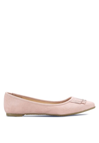 Marie Claire pink Ballerina Flats MA158SH0RCZXMY_1