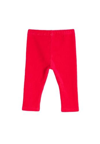 KOTON pink Classic Leggings 5AD27KAF0AC52DGS_1