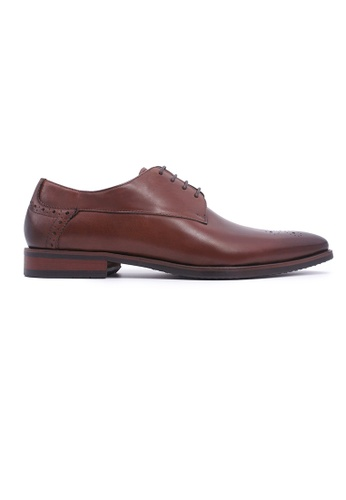 Rad Russel brown Rad Russel Lace-up Derby - Brown 5F689SH707750BGS_1