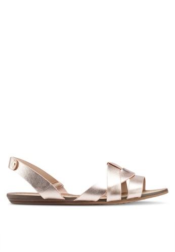 a02550ab1ae ALDO gold Deladriewiel Slingback Sandals 02210SHDE67FCCGS 1