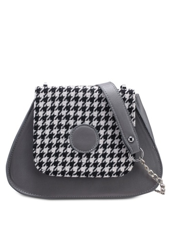 Berrybenka grey Yuvita Decca Sling Bag 7EF24AC5723CC0GS_1