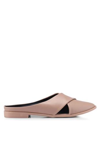 Noveni 褐色 Slide-On Sandals AC1D3SH1AB49A2GS_1
