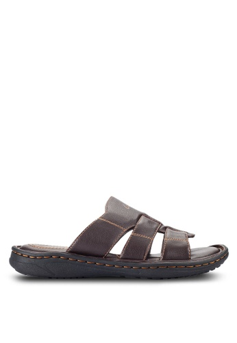 Louis Cuppers brown Casual Sandals LO977SH34RCZMY_1