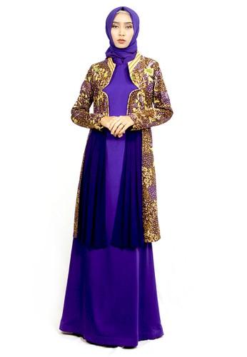 INA PRIYONO purple AGNOLA Longdress by Ina Priyono 3CC99AAEDE78B1GS_1